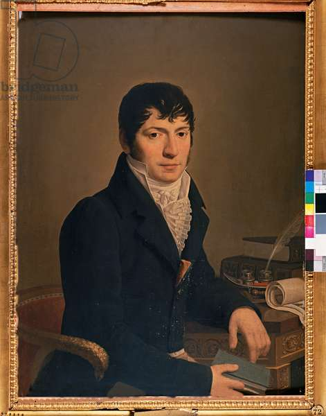 Portrait of the Marquis Federico Fagnani (oil on canvas)