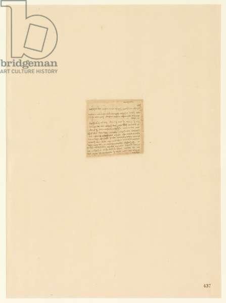 Codex Atlanticus, sheet 437 recto
