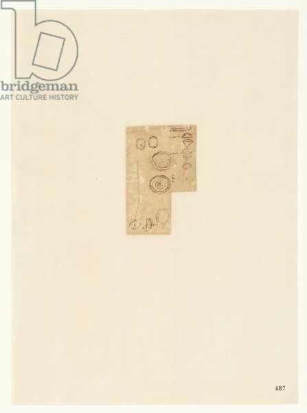 Codex Atlanticus, sheet 487 recto