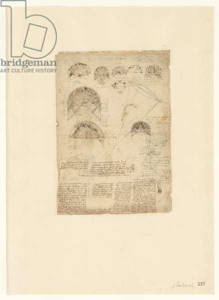 Codex Atlanticus, sheet 537 recto