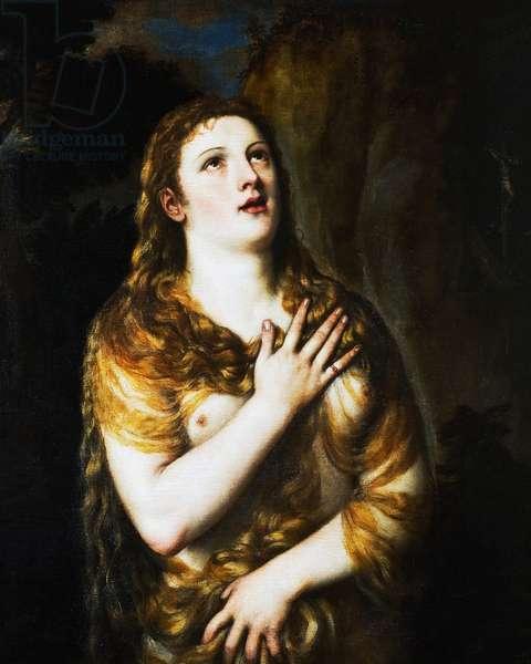 Mary Magdalene, 1525-49 (oil on canvas)