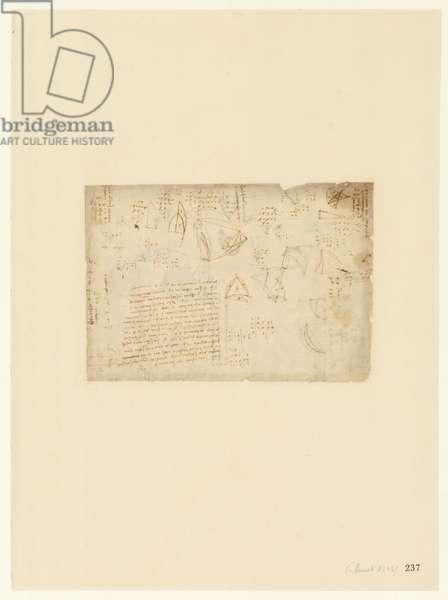 Codex Atlanticus, sheet 237 recto