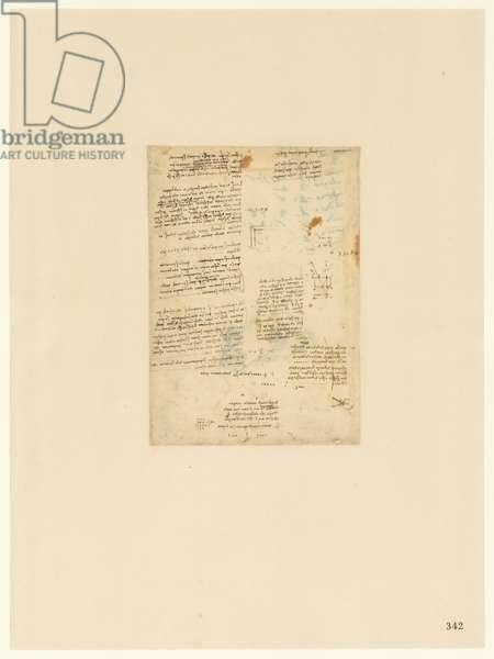 Codex Atlanticus, sheet 342 recto