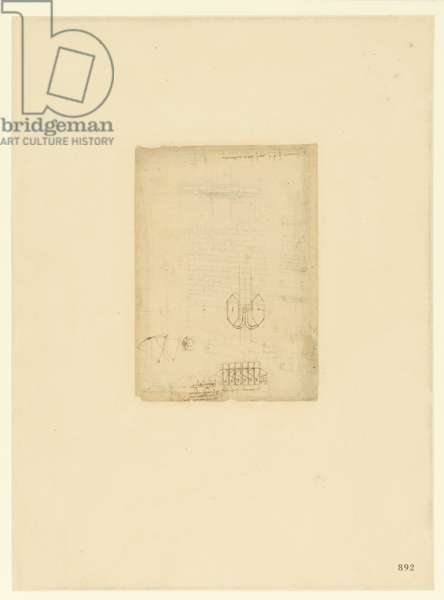 Codex Atlanticus, sheet 892 recto