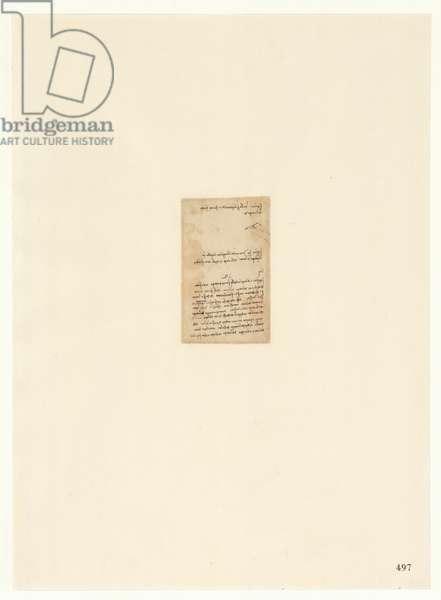 Codex Atlanticus, sheet 497 recto
