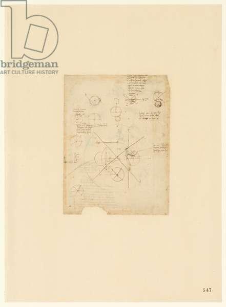 Codex Atlanticus, sheet 547 recto