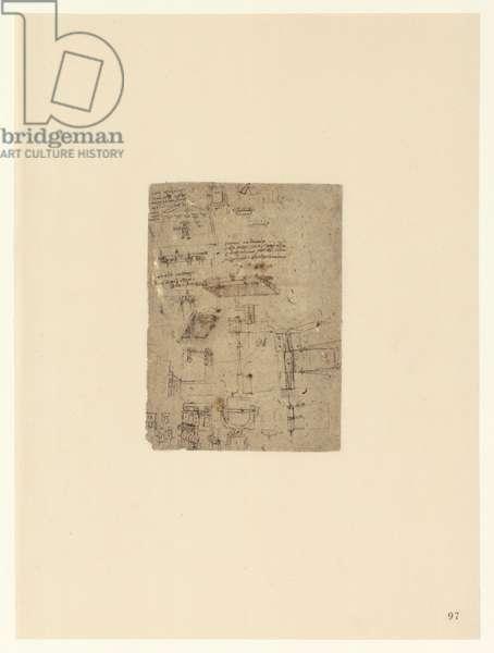 Codex Atlanticus, sheet 97 recto