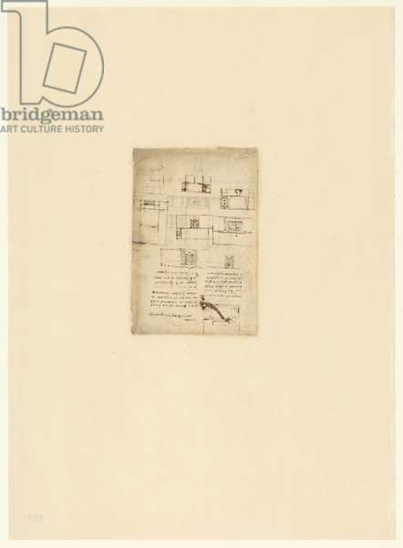 Codex Atlanticus, sheet 592 verso