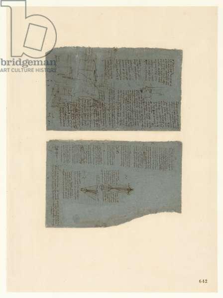 Codex Atlanticus, sheet 642 recto