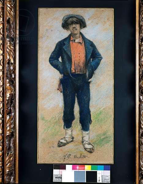 Coalman, 1880-85 (pastel on cardboard)