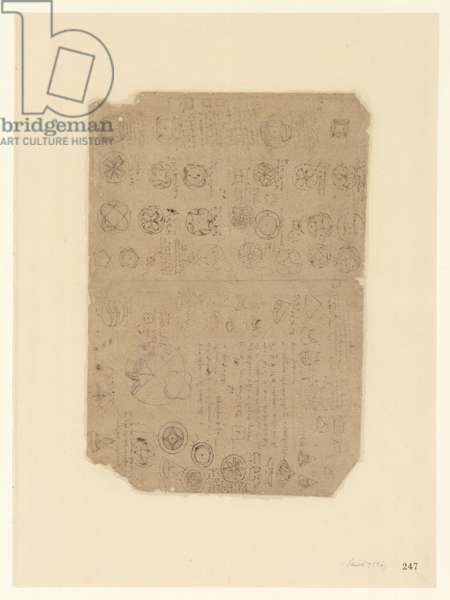 Codex Atlanticus, sheet 247 recto