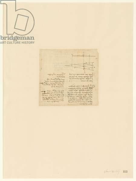 Codex Atlanticus, sheet 352 recto