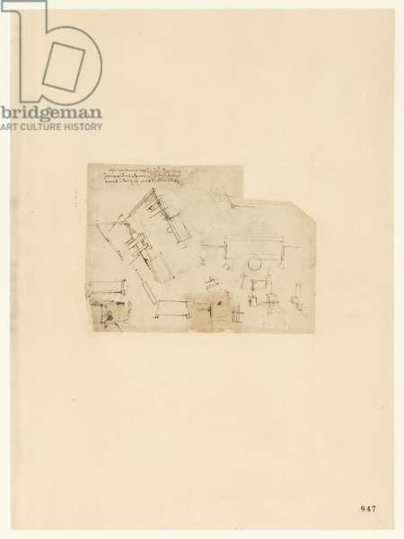 Codex Atlanticus, sheet 947 recto