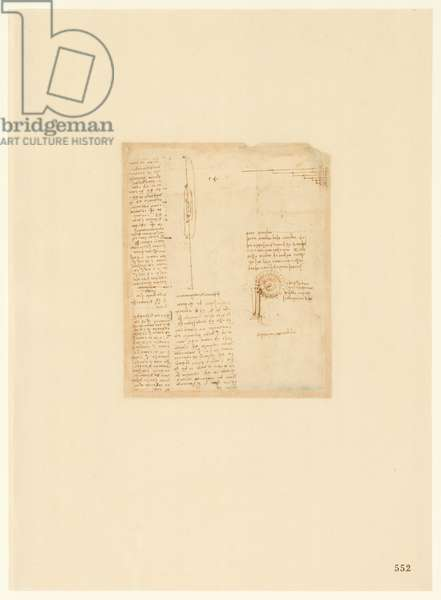 Codex Atlanticus, sheet 552 recto