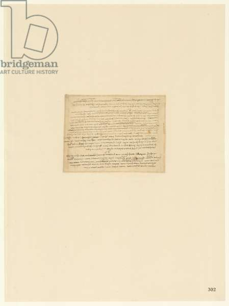 Codex Atlanticus, sheet 302 recto