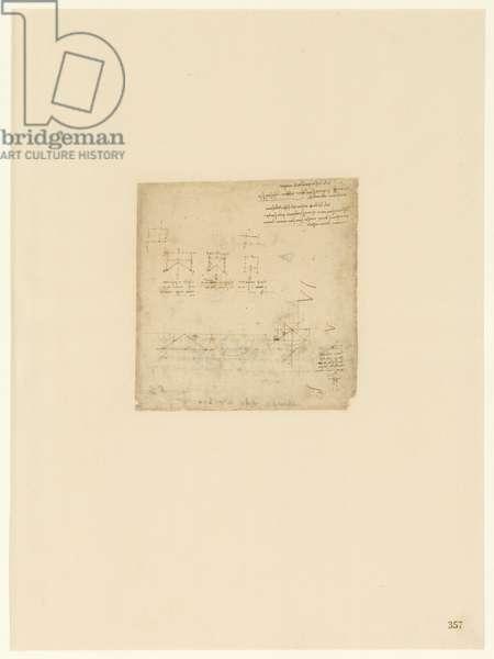 Codex Atlanticus, sheet 357 recto