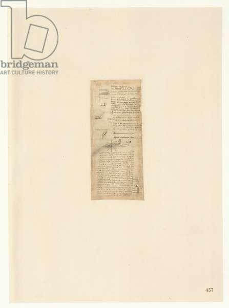 Codex Atlanticus, sheet 457 recto