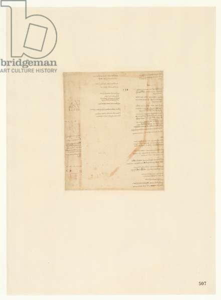Codex Atlanticus, sheet 507 recto