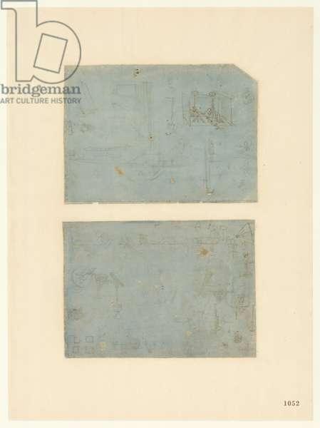 Codex Atlanticus, sheet 1052 recto