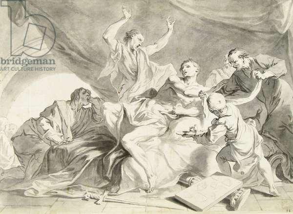 The Death of Marcus Porcius Cato Uticensis