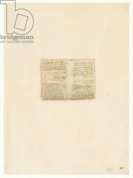 Codex Atlanticus, sheet 362 recto
