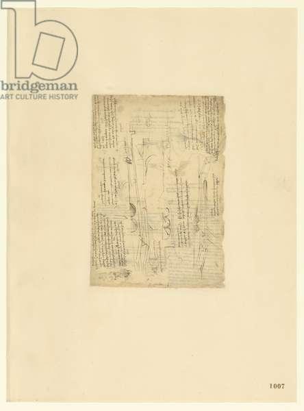 Codex Atlanticus, sheet 1007 recto