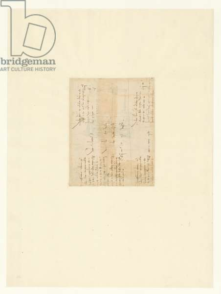 Codex Atlanticus, sheet 20 verso