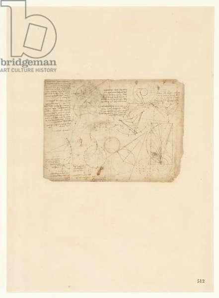Codex Atlanticus, sheet 512 recto