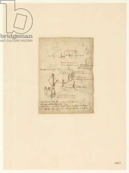 Codex Atlanticus, sheet 1057 recto