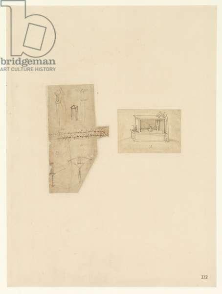 Codex Atlanticus, sheet 112 recto