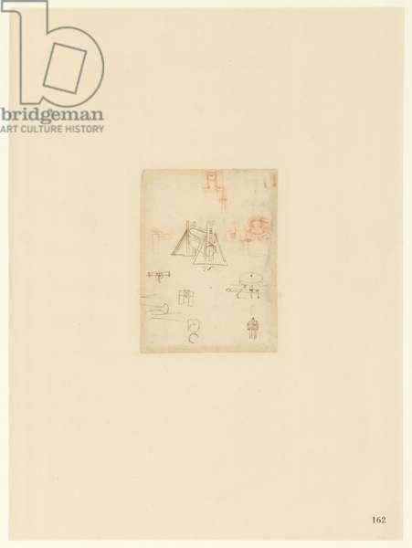 Codex Atlanticus, sheet 162 recto