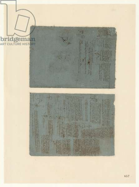 Codex Atlanticus, sheet 657 recto