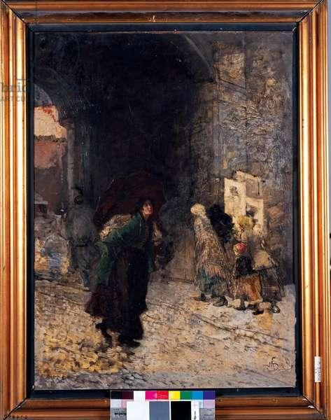 The Rain, 1887 (oil on canvas)