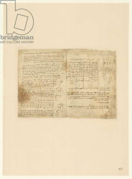 Codex Atlanticus, sheet 417 recto