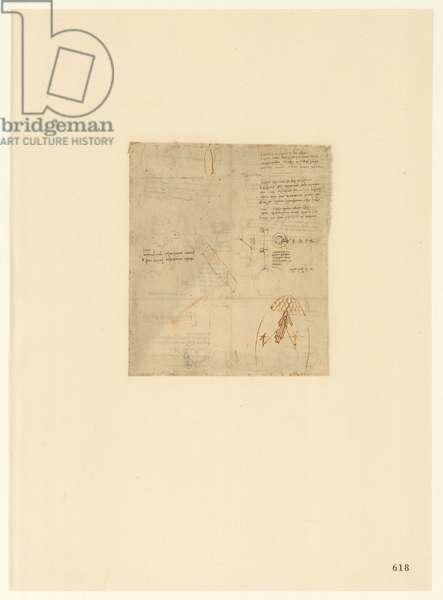 Codex Atlanticus, sheet 618 recto