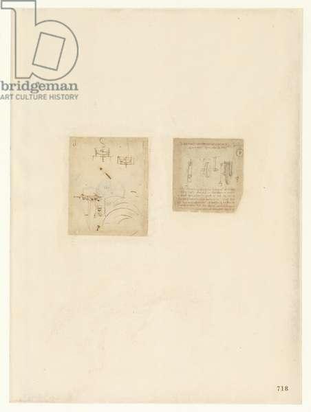 Codex Atlanticus, sheet 718 recto
