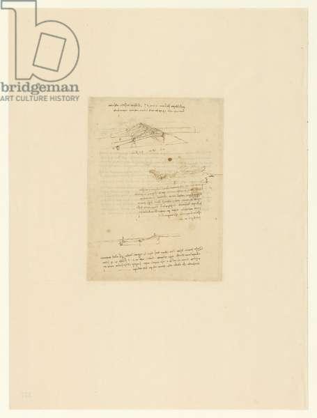 Codex Atlanticus, sheet 127 verso