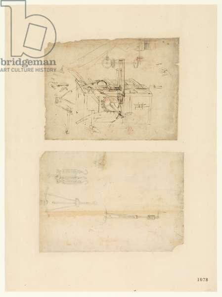 Codex Atlanticus, sheet 1078 recto