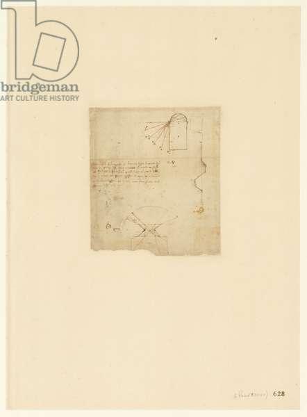 Codex Atlanticus, sheet 628 recto