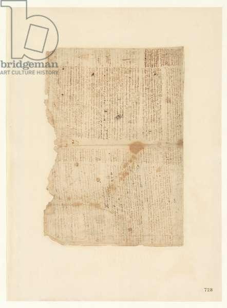 Codex Atlanticus, sheet 728 recto
