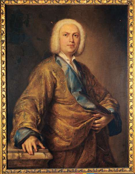 Portrait of a Gentleman, c.1734 (oil on canvas)