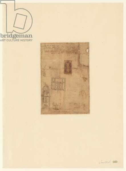 Codex Atlanticus, sheet 583 recto