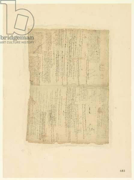 Codex Atlanticus, sheet 683 recto