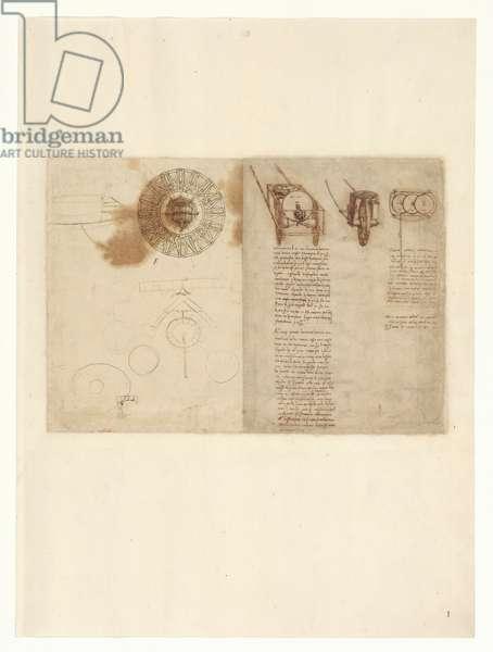 Codex Atlanticus, sheet 1 recto