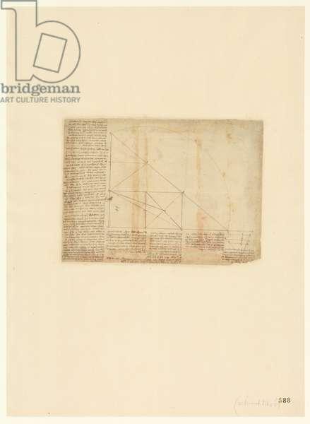 Codex Atlanticus, sheet 588 recto