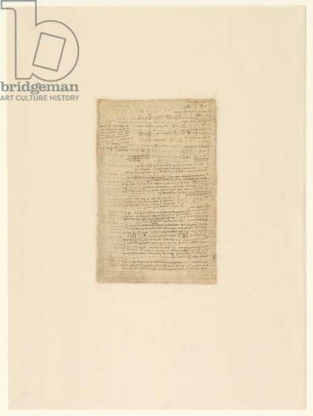 Codex Atlanticus, sheet 192 verso