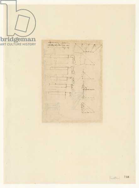 Codex Atlanticus, sheet 738 recto