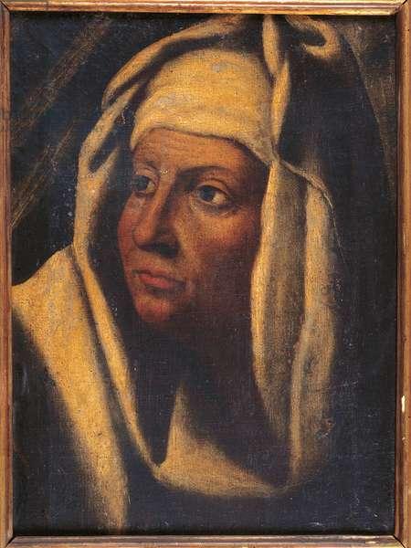 Abra, Judith's Maid (oil on canvas)