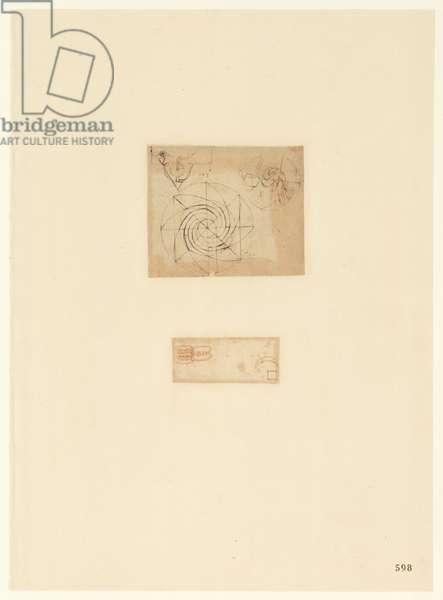 Codex Atlanticus, sheet 598 recto