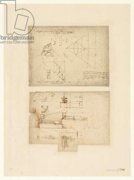 Codex Atlanticus, sheet 798 recto